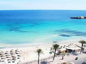 Пляжи Махдии с белым песком