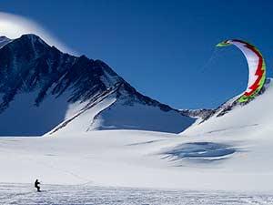 Отдых на Южном полюсе