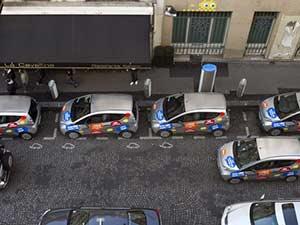 Правила паркинга во Франции