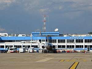 Международный аэропорт в Акапулько