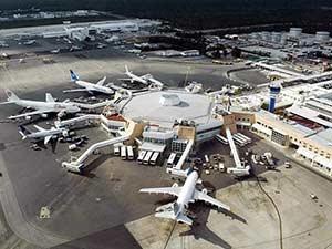 Международный аэропорт в Канкуне
