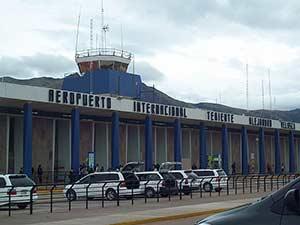 Международный аэровокзал в Куско