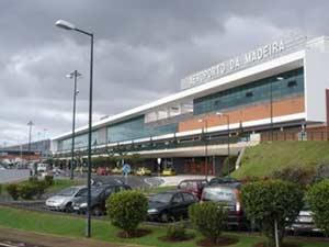 Международный аэропорт Фуншал на острове Мадейра