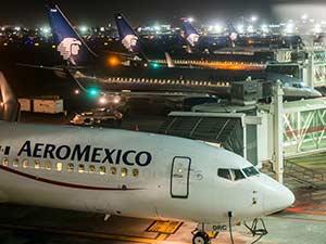Базовые авиакомпании аэропорта в Мехико