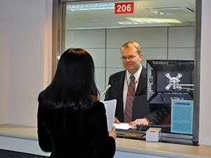 Собеседование на визу в посольстве США