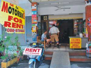Сколько стоит аренда транспорта у тайских прокатчикв