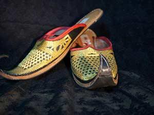 Марокканские туфли-бабуши