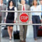 Запрет на выезд в аэропорту